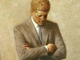 JFK White House Portrait